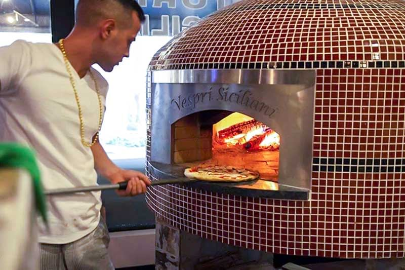Making Wood Fired Pizza