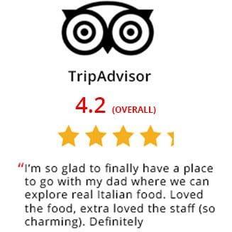 Trip Advisor Vespri Siciliani Reviews