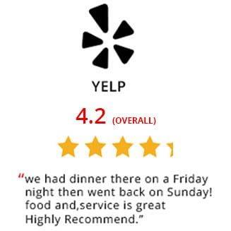 Yelp Reviews Vespri Siciliani