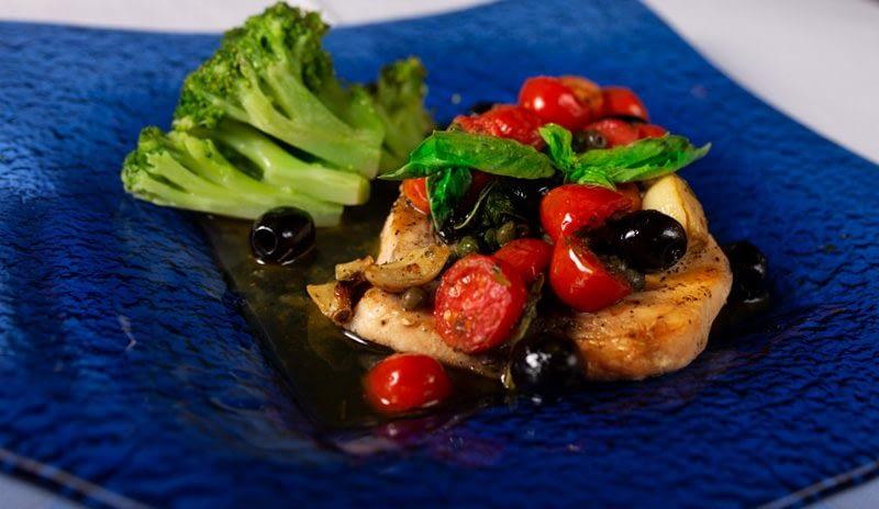 Vespri Siciliani Boca Raton Chicken Tomatoes